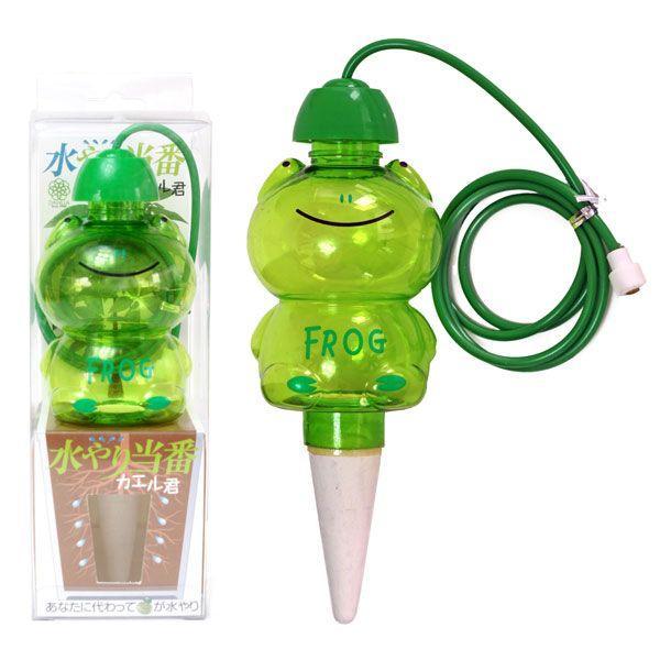 給水ツール:水やり当番カエル君(1個入×1箱)|engei