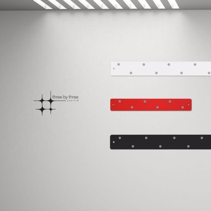 超特価SALE開催 10%OFF 壁面収納 マグネットボード おしゃれな 壁掛け マグネット ストリップ ロング2本 ショート1本 セット