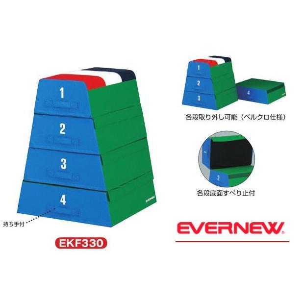 【メーカー直送のため代引き不可】 EVERNEW エバニュー EKF330 フォーム跳び箱 80-II