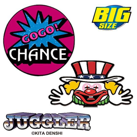 【クリックポスト送料無料】ジャグラーゴルフマーカー(BIGサイズ) キャラクター  GOGO! グッズ|enjoycb