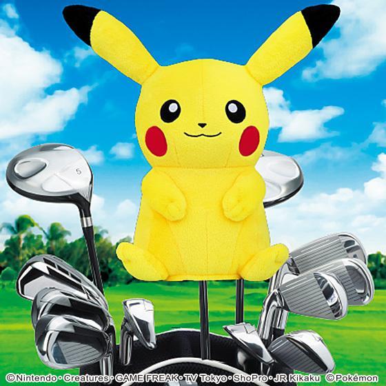 【送料無料】ポケットモンスター ヘッドカバーFW用 ピカチュウ ゴルフ キャラクター グッズ enjoycb 07