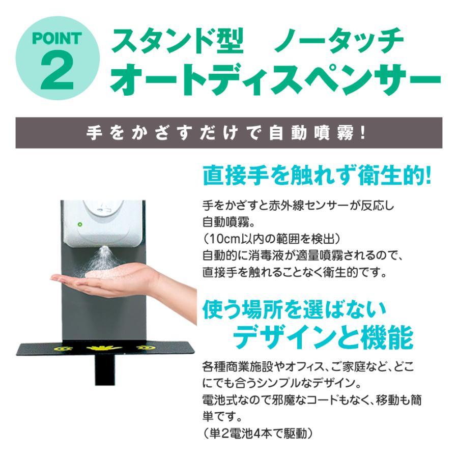 【即納】 アルコールディスペンサー 自動センサー 【業務用】オリジナルA4ポスター12種セット アルコール消毒液 スタンド型 ディスペンサー enjoycb 05
