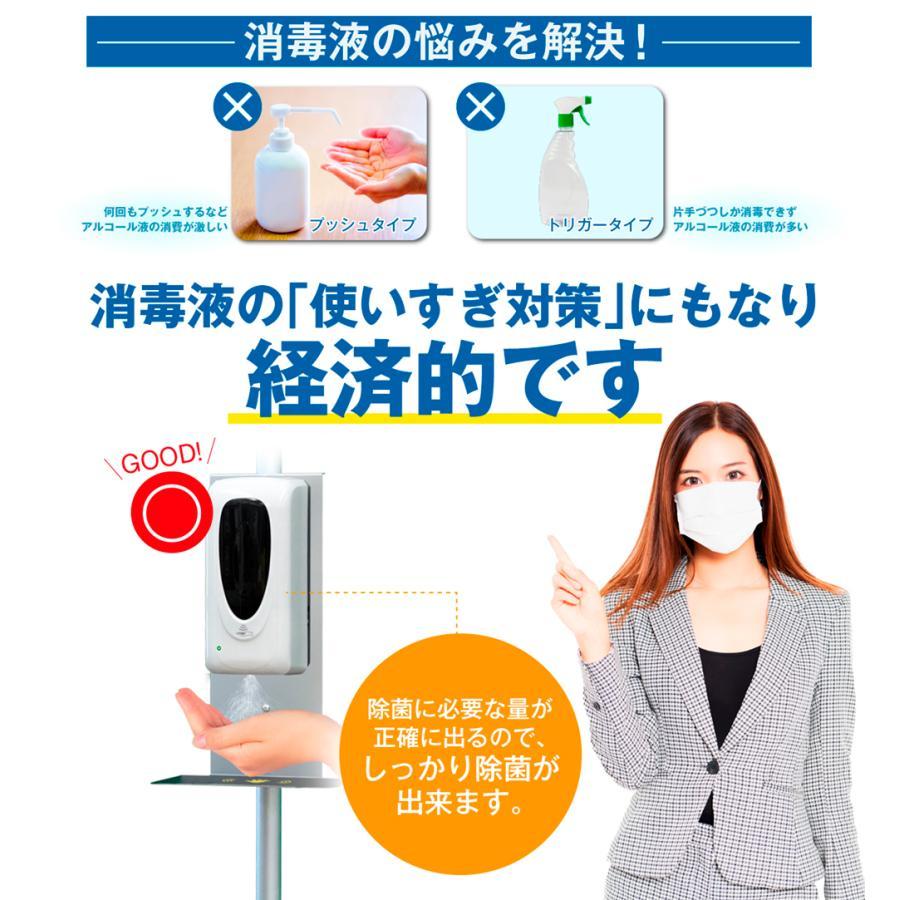 【即納】【業務用】アルコール ディスペンサー 自動センサー アルコール噴霧器  (時計付き)A4ポスター12種 スタンド型  衛生対策|enjoycb|09