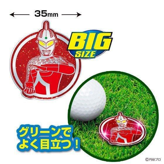 【クリックポスト送料無料】 ウルトラセブンゴルフマーカー(BIGサイズ) キャラクター グッズ|enjoycb|02