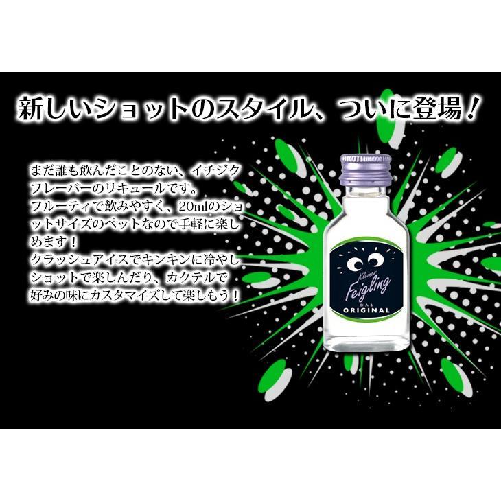 送料無料 クライナーファイグリング オリジナル ペット 20ml×30本 リキュール お酒 20度 正規品|enokishouten|02