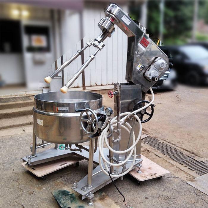 中井機械工業 服部工業 業務用 蒸気式煮練撹拌機 CD-3 RHST-25 2013年【中古】