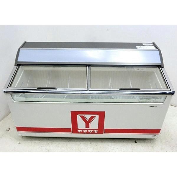 サンヨー アイス 冷凍ショーケース SCR-151DN 2010年【中古】