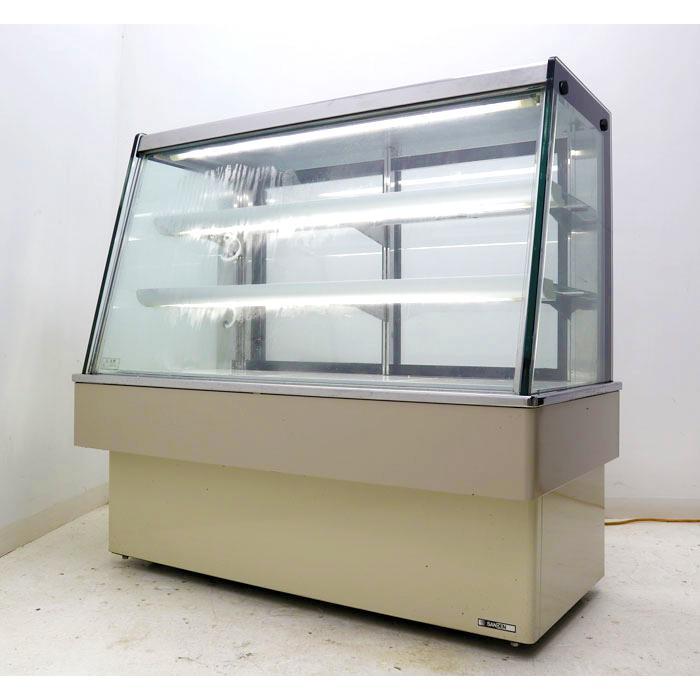 サンデン 対面式 冷蔵ショーケース TSA-120Y-C ケーキケース 冷蔵庫 2008年 【中古】