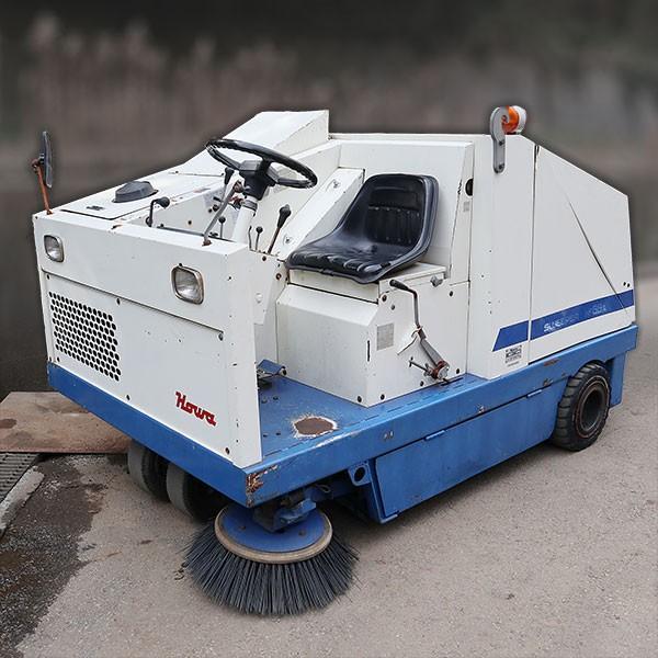 豊和工業 道路スイーパー 産業用清掃機 パワースイーパー HF66A 1990年 【中古】