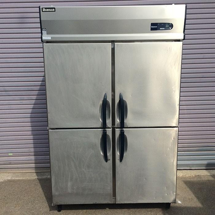 ダイワ 大和冷機 冷凍庫 413-EC 業務用 2013年 縦型 冷凍庫 4枚扉 インバータ 【中古】