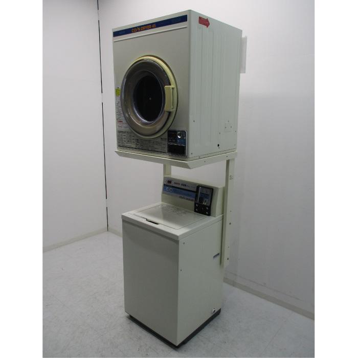 【送料無料】 全自動洗濯機 乾燥機 ASW‐A45C CD‐S45C1 サンヨー 2011年 中古 お客様荷下ろし 【見学 仙台】