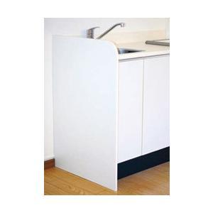 NEW流し台用エンドパネルW630×H950×T18右側も左側も対応仕様 水はねを防止するキッチンサイドパネルEP-630K(エリア限定配送無料)|ensin