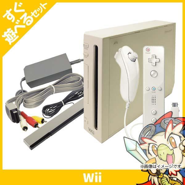 Wii ウィー 本体 シロ 白 ニンテンドー 任天堂 Nintendo 中古 すぐ遊べるセット entameoukoku