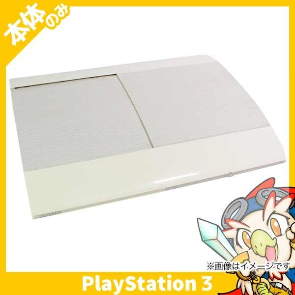 PS3 プレステ3 PlayStation 3 250GB クラシック・ホワイト (CECH-4000B LW) SONY ゲーム機 中古 本体のみ|entameoukoku