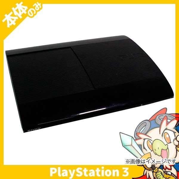 PS3 プレステ3 PlayStation 3 500GB チャコール・ブラック (CECH-4000C) SONY ゲーム機 中古 本体のみ entameoukoku