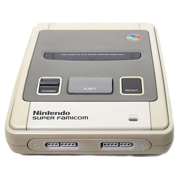 スーパーファミコン 本体 すぐ遊べるセット コントローラー2個付 SFC 中古 entameoukoku 02