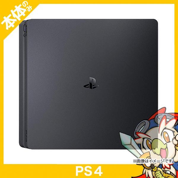 PS4 ジェット・ブラック 500GB (CUH-2100AB01) 本体 のみ PlayStation4 SONY ソニー 中古 送料無料