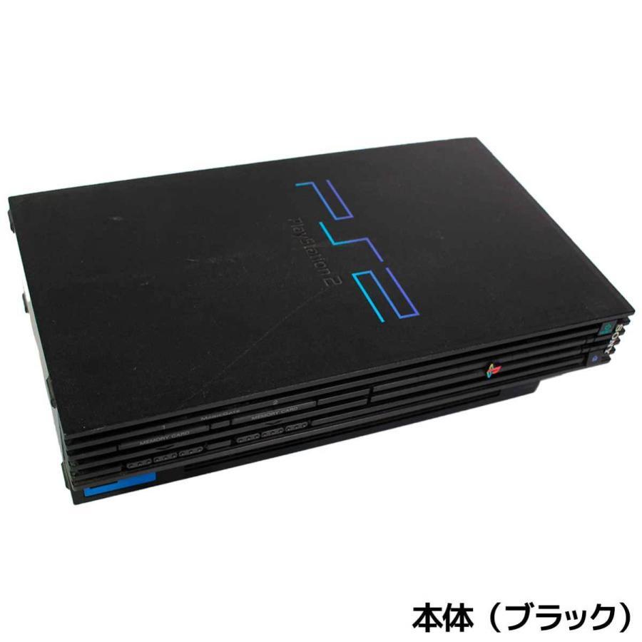 PS2 プレステ2 一式 コントローラー メモリーカード付 SCPH-50000 選べるカラー 本体 すぐ遊べるセット【中古】|entameoukoku|02