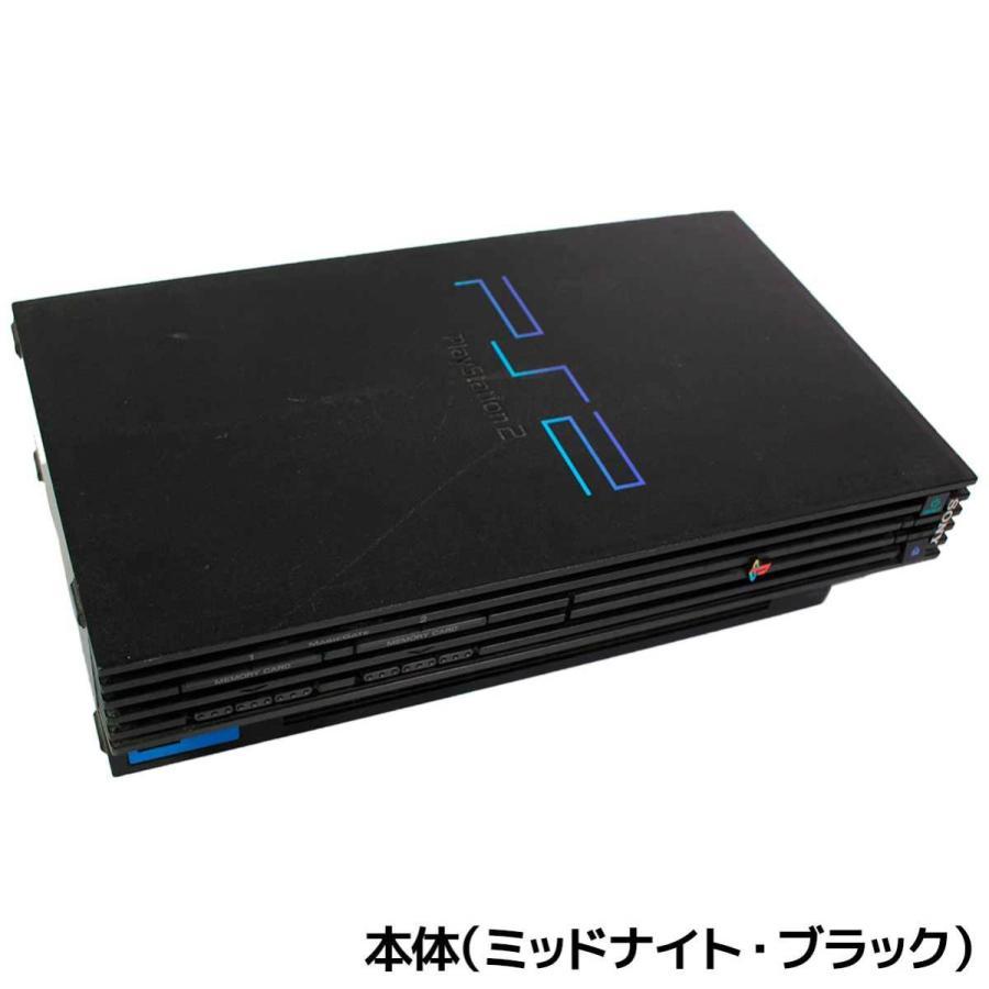 PS2 プレステ2 一式 コントローラー メモリーカード付 SCPH-50000 選べるカラー 本体 すぐ遊べるセット【中古】|entameoukoku|03