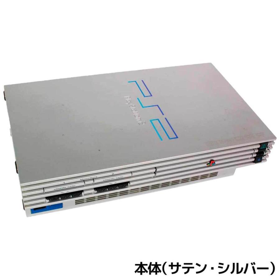 PS2 プレステ2 一式 コントローラー メモリーカード付 SCPH-50000 選べるカラー 本体 すぐ遊べるセット【中古】|entameoukoku|04