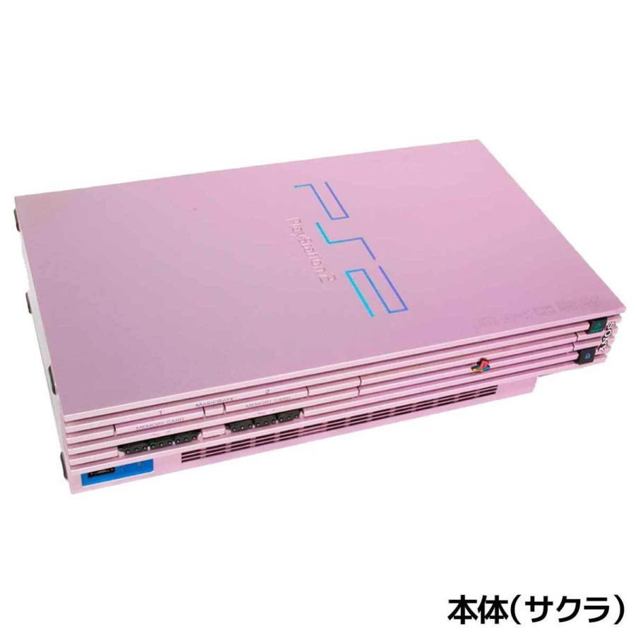 PS2 プレステ2 一式 コントローラー メモリーカード付 SCPH-50000 選べるカラー 本体 すぐ遊べるセット【中古】|entameoukoku|05