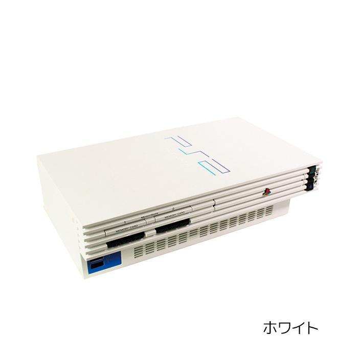 PS2 プレステ2 一式 コントローラー メモリーカード付 SCPH-50000 選べるカラー 本体 すぐ遊べるセット【中古】|entameoukoku|08