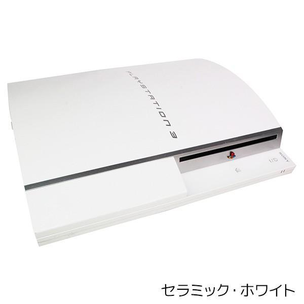 PS3 本体 中古 本体 のみ 選べるカラー CECHL00 80GB ブラック シルバー ホワイト 中古 entameoukoku 04