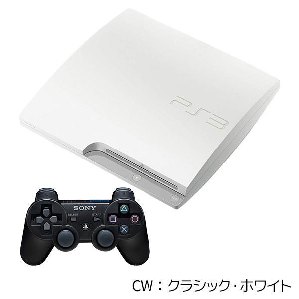 PS3  CECH-3000A 160GB 本体 中古 純正 コントローラー 1個付 選べるカラー ブラック ホワイト HDMIケーブル付 中古|entameoukoku|03