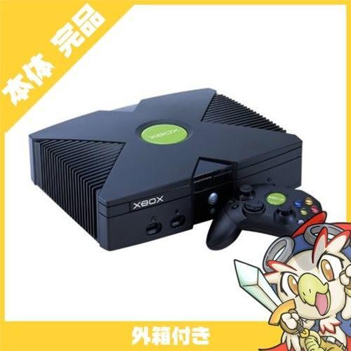 Microsoft Xbox 本体 本体 完品 外箱付き マイクロソフト 中古 送料無料