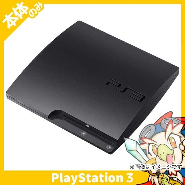 PS3 プレステ3 250GB チャコール ブラック CECH-2100B 本体のみ 本体 PlayStation3 SONY ソニー 中古 送料無料