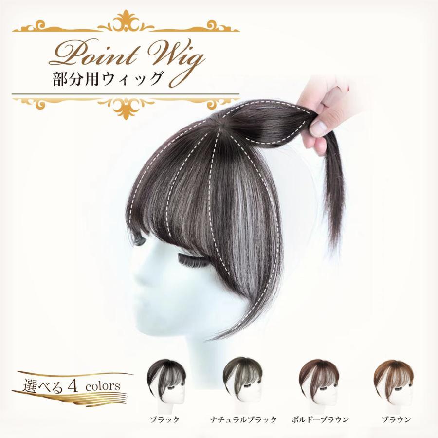 前髪ウィッグ エクステ 情熱セール 部分ウィッグ ポイントウィッグ ウィッグ ワンタッチ クリップ1個 かつら 安い ぱっつん 4カラー トップヘアー