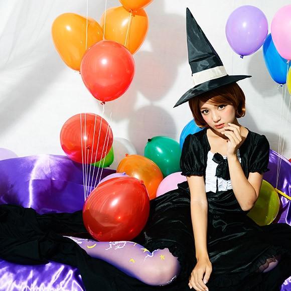 コスプレ ハロウィン 魔女 ファッションウィッチ 女性 女 かわいい 可愛い オシャレ お洒落 コスチューム 魔法使い 仮装 衣装 可愛い|enteron-kagu-shop|05