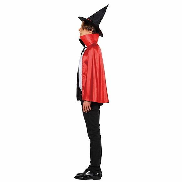9月中旬入荷 レッド8月上旬以降入荷 コスプレ ハロウィン 2カラーマント 大人 レッド/パープルコスチューム halloween 仮装 女性 enteron-kagu-shop 12
