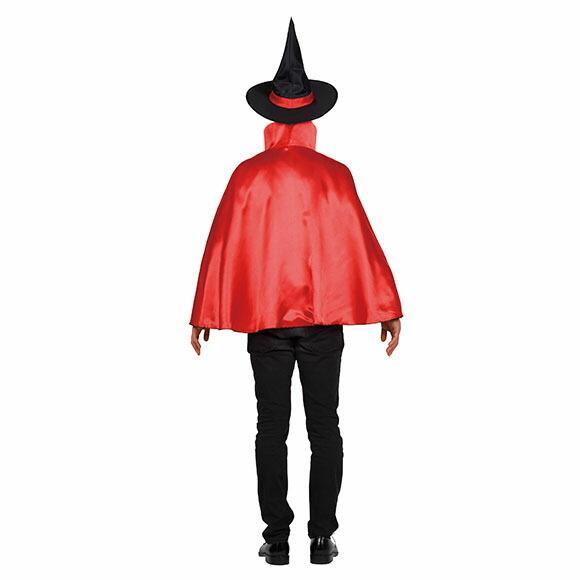 9月中旬入荷 レッド8月上旬以降入荷 コスプレ ハロウィン 2カラーマント 大人 レッド/パープルコスチューム halloween 仮装 女性 enteron-kagu-shop 13