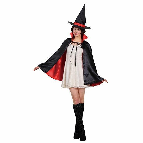 9月中旬入荷 レッド8月上旬以降入荷 コスプレ ハロウィン 2カラーマント 大人 レッド/パープルコスチューム halloween 仮装 女性 enteron-kagu-shop 06