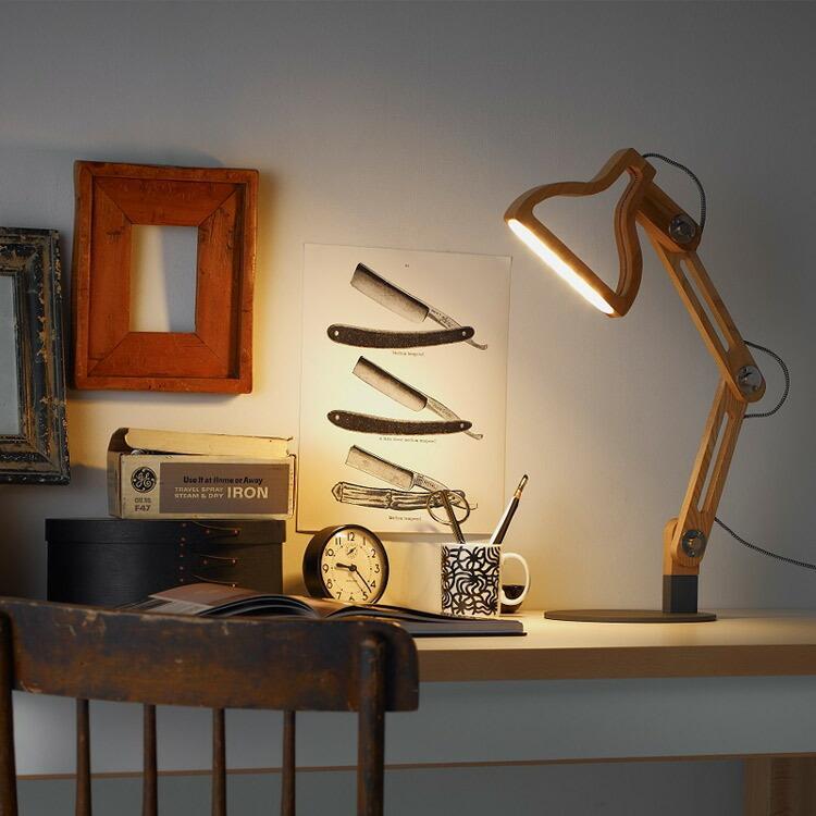 クーポン使用不可 照明 LED レコルト ルミエール ポルックス LED テーブルライト スタンドライト プレゼント|enteron-shop2|02