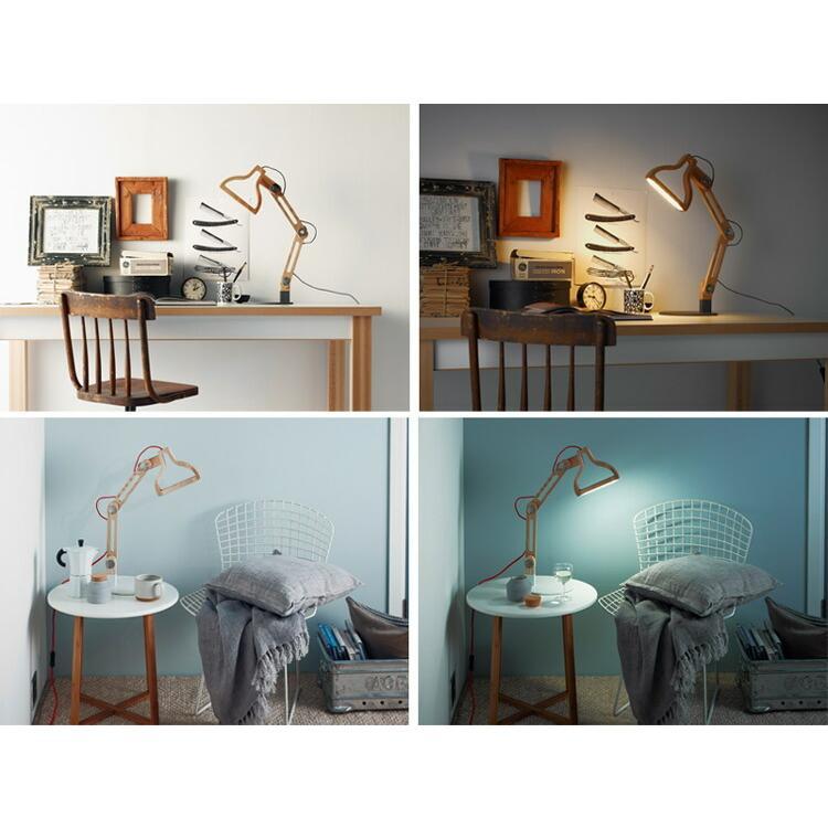 クーポン使用不可 照明 LED レコルト ルミエール ポルックス LED テーブルライト スタンドライト プレゼント|enteron-shop2|05