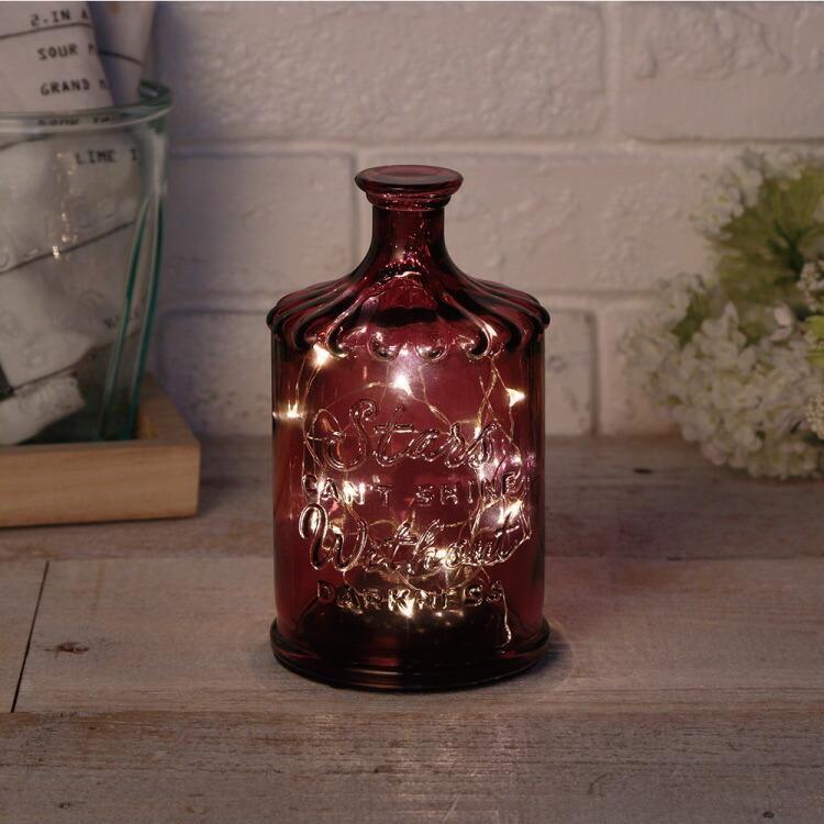 クーポン使用不可 インテリア 照明 LED Bottle Light LIRICA ボトルライト リリカ コードレス おしゃれ ガラス タイマー 間接照明 照明器具 コンパクト|enteron-shop2|02