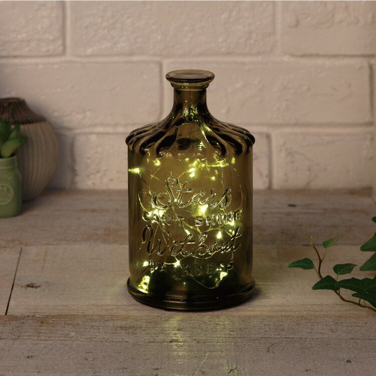 クーポン使用不可 インテリア 照明 LED Bottle Light LIRICA ボトルライト リリカ コードレス おしゃれ ガラス タイマー 間接照明 照明器具 コンパクト|enteron-shop2|03