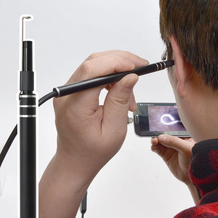 耳スコープ 耳掃除 カメラ カメラで見ながら耳掃除!爽快USB耳スコープ USBEARCM Android モニター 耳の中 撮影 耳かき 綿棒 サンコー ギフト クリスマス|enteron-shop2|02