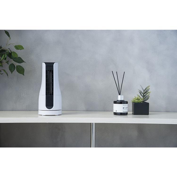 扇風機 タワー型 ミニタワーファン ホワイト/アッシュピンク/TF-T1910 AC電源 オフィス デスク 小型 コンパクト 机 夏 暑さ対策 熱中症対策 スリーアップ|enteron-shop2|02