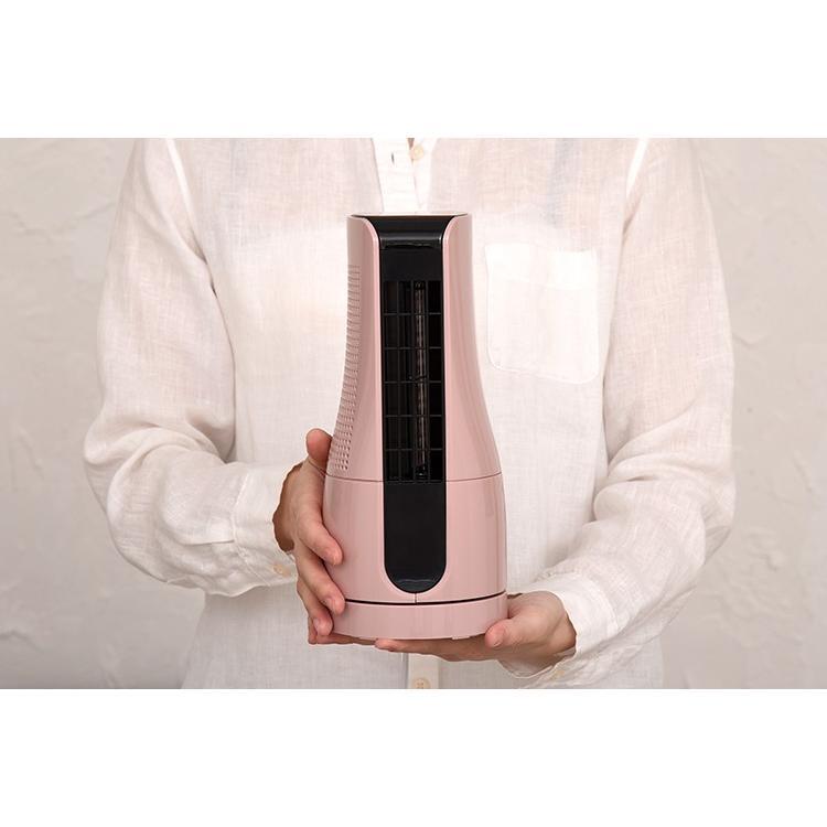 扇風機 タワー型 ミニタワーファン ホワイト/アッシュピンク/TF-T1910 AC電源 オフィス デスク 小型 コンパクト 机 夏 暑さ対策 熱中症対策 スリーアップ|enteron-shop2|05