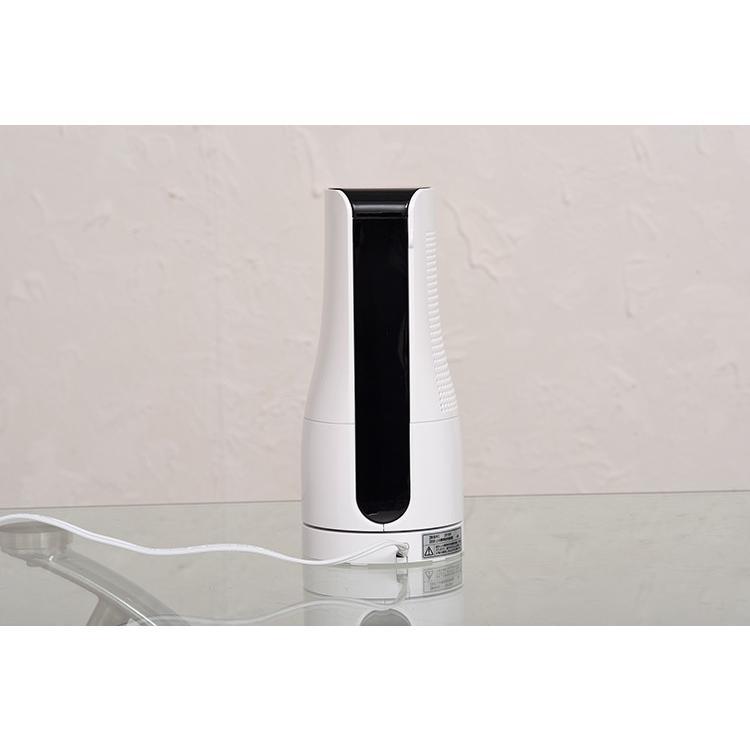 扇風機 タワー型 ミニタワーファン ホワイト/アッシュピンク/TF-T1910 AC電源 オフィス デスク 小型 コンパクト 机 夏 暑さ対策 熱中症対策 スリーアップ|enteron-shop2|10