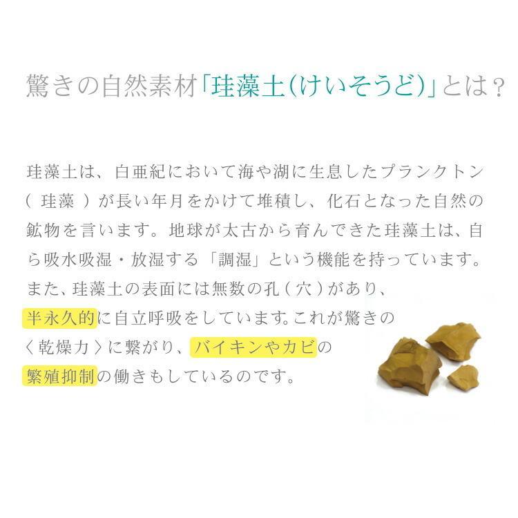 珪藻土バスマット trico 珪藻土 バスマット グレー/ブルー/ピンク  CTZ-1-01/CTZ-1-02/CTZ-1-03 インテリア 部屋|enteron-shop2|02