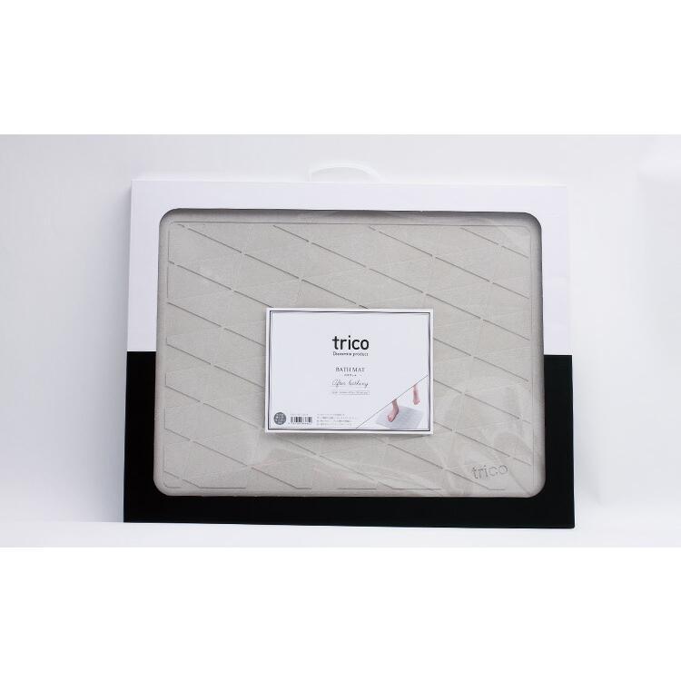 珪藻土バスマット trico 珪藻土 バスマット グレー/ブルー/ピンク  CTZ-1-01/CTZ-1-02/CTZ-1-03 インテリア 部屋|enteron-shop2|06