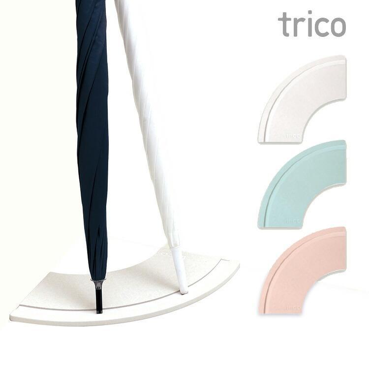 珪藻土 傘立て trico インテリア CTZ-3-01/CTZ-3-02/CTZ-3-03 傘 水滴 雨 梅雨|enteron-shop2