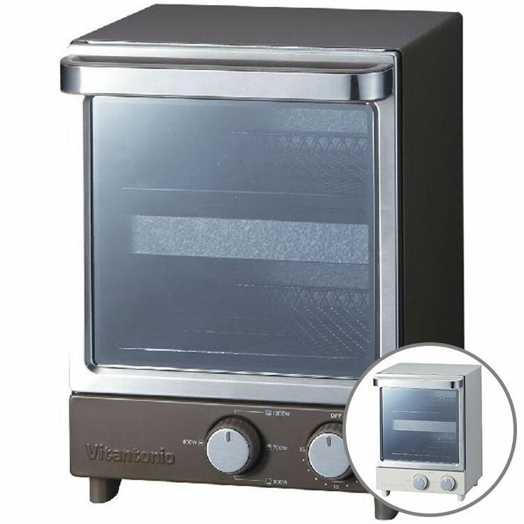 オーブントースター 縦型 1000W ビタントニオ