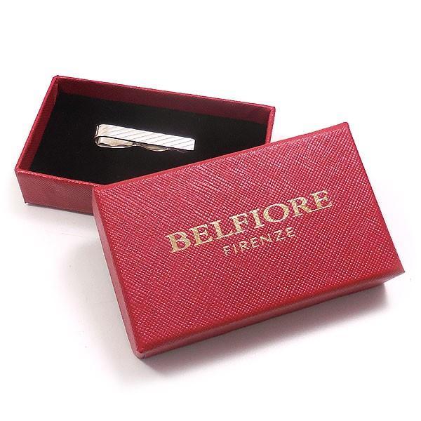 タイバー タイピン ネクタイピン シルバー925 斜めライン模様 イニシャル刻印可 イタリア製 ベルフィオーレ メンズ 就職祝い 父の日 プレゼント ギフト|entiere|05