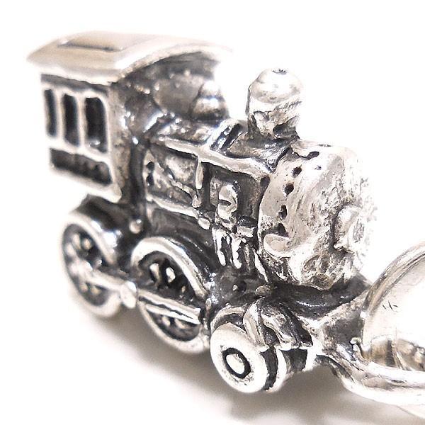 チャーム ペンダントトップ シルバー925 おもちゃ 機関車 イタリア製 CHARMS&Co. レディース メンズ entiere 02