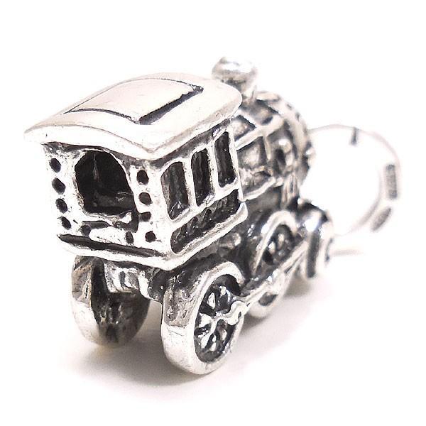 チャーム ペンダントトップ シルバー925 おもちゃ 機関車 イタリア製 CHARMS&Co. レディース メンズ entiere 03
